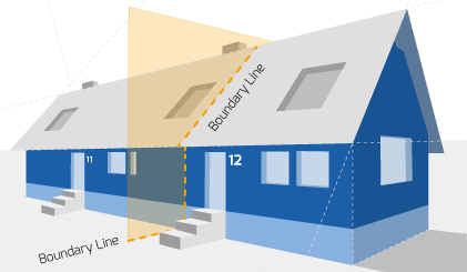 Party Wall illustration for Rye Surveyors